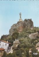 43-----LE PUY EN VELAY--rocher Corneille--voir  2 Scans - Le Puy En Velay