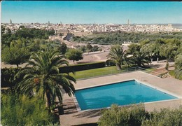 MAROC---MEKNES--vue Generale Et Piscine De L'hôtel Transatlantique--voir  2 Scans - Meknès