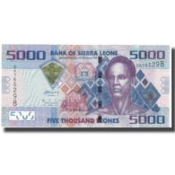 Billet, Sierra Leone, 5000 Leones, 2010, 2010-04-27, KM:32, NEUF - Sierra Leona