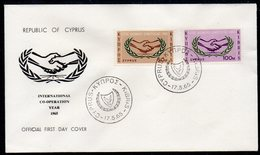 CYPRUS, 1965 ICY FDC - Lettres & Documents