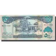 Billet, Somaliland, 500 Shillings = 500 Shilin, 2011, 2011, KM:6h, NEUF - Somalie
