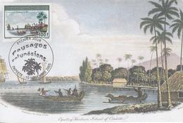 Carte Maximum  1er Jour  POLYNESIE   Paysages  Polynésiens   2005 - Cartes-maximum