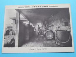 DAM Anvers > MARGNAT Frères VINS En GROS ( Etuvage Et Rinçage Des Fûts ) Anno 19?? ( Zie/voir Photo ) ! - Antwerpen