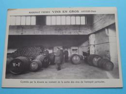DAM Anvers > MARGNAT Frères VINS En GROS ( Controle Par La Douane Au Moment De La Sorti ) Anno 19?? ( Zie/voir Photo ) ! - Antwerpen
