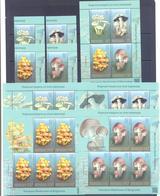 2019. Kyrgyzstan, Poisonous Mushrooms, 4v + S/s + 4 Sheetlets, Mint/** - Kirgisistan