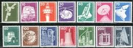 Berlin - Mi 494 / 507 - ** Postfrisch (A) - Industrie Und Technik I - Unused Stamps