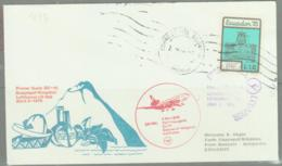 ECUADOR  - 1976 - GUAYAQUIL TO KINGSTON  ILLUSTRATED FIRST FLIGHT COVER - Ecuador