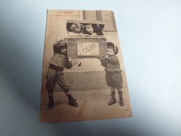 BELLE ILLUSTRATION ...FRAGILE N°5 ...JEUNES ENFANTS - Bergeret