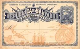 Amérique Du Sud - Belles Oblitérations / 10049 - El Salvador - 1892 - Cartes Postales