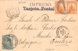 Amérique Du Sud - Belles Oblitérations / 10053 - Uruguay - - Cartes Postales