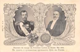 Russie / 10078 - Souvenir Du Voyage Du Président Loubet En Russie - 1902 - Russie
