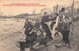 10090 - Espagne - Madrid - Orillas Del Manzanares - Tipos De Lavanderas - Espagne