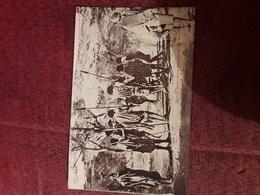 Carte Postale  Ancienne  Ethiopie  Dans Les Contrees Galta Danse Guerriere - Ethiopie