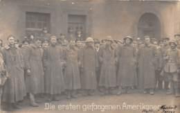 10148 - Photo Card - Westfront - Die Ersten Gefangenen Amerikaner - Cartes Postales