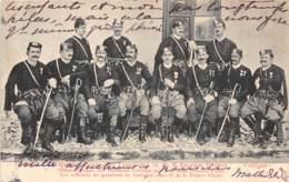 10163 - Montenegro - Les Officiers De Garnison De Cettigné - Défaut - Montenegro