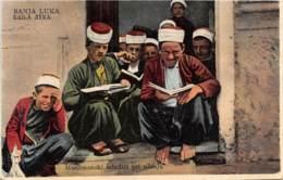 10165 - Bosnie - Muslimanski Mladici Pri Ucenju - Bosnie-Herzegovine