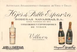 10235 - Espagne - Carte Pub - Villava - Navarra - Espagne