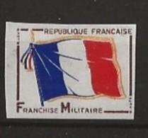 FM 13 Non Dentelé Superbe - Franchise Stamps