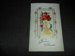 Carte Brodée ( 125 )  Geborduurde Kaart - Brodées