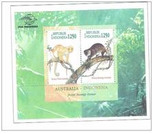 N72- Indonesia 1996 Indonesia. Australia Animal Monkey - Indonesia