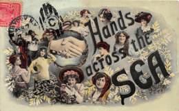10284 - Hands Across The Sea - Cartes Postales