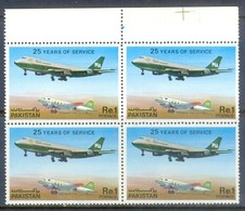 N77- Pakistan 1980. 25 Years Of PIA Service. - Pakistan