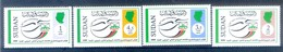 N89- Sudan 2008. 24th UPU Congress Nirobi Kenya. Postal Development Flag Map. - Soudan (1954-...)