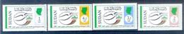 N89- Sudan 2008. 24th UPU Congress Nirobi Kenya. Postal Development Flag Map. - Sudan (1954-...)
