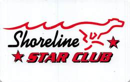 Shoreline Star Greyhound Park - Bridgeport, CT - Star Club Card - Casino Cards