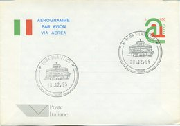 ITALIA - AEROGRAMMA 1995 - TRICOLORE - FDC - 6. 1946-.. Repubblica
