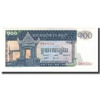 Billet, Cambodge, 100 Riels, Undated (1963-72), KM:12a, NEUF - Cambodia
