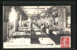 CPA Saint-Germain-en-Laye, Pavillon Henri IV., La Salle A Manger - St. Germain En Laye