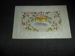 Carte Brodée ( 145 )  Geborduurde Kaart   Carte Enveloppe - Brodées