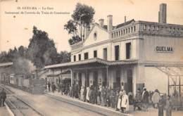 Algérie / 10399 - Guelma - La Gare - Beau Cliché - Algérie