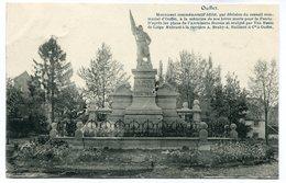 CPA - Carte Postale - Belgique - Ouffet - Monument Commémoratif - 1921 (M7754) - Ouffet