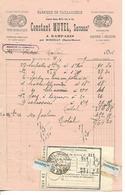 Facture 1/2 Format 1929 / 52 DAMPARIS Ar MARCILLY / Constant MUTEL / Fabrique De Taillanderie / Serpettes, Sécateurs - France