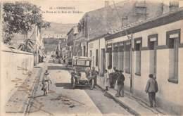 Algérie / 10408 - Cherchell - La Poste Et Rue Du Théâtre - Algérie