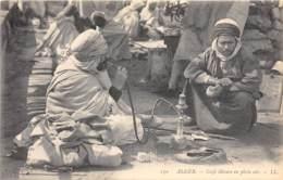 Algérie / 10410 - Alger - Café Maure En Plein Air - Beau Cliché Animé - Algérie