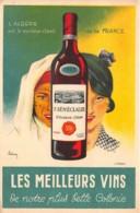 Algérie / 10415 - Belle Carte Illustrée - Les Meilleurs Vins - Algérie