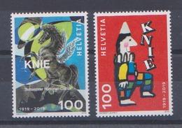 Timbres De Suisse Cirque National Knie MNH ** - Switzerland