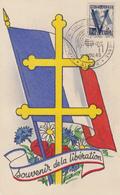 Carte  Maximum   ALGERIE   Pour  La  Victoire    ALGER    1949 - Cartes-maximum