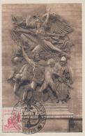 Carte  Maximum   ALGERIE   Pour  La  Victoire    ALGER    1951 - Cartes-maximum
