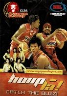 24F : Basketball Advertisement Postcard - Basketball