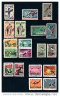 Collection Of 09 Sets Of Vietnam MNH Perf Stamps 1964 - 1972 : US Planes Shot Down Over North Viet Nam - Vietnam