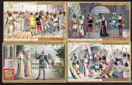 LOT De 8 CHROMOS LIEBIG  Theme Opera Theatre Shakespeare  L'Africaine Meyerbeer Paul  Virginie Fidelio Beethoven Mozart - Liebig
