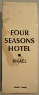 HOTEL MOTEL INN PENSION MOTOR HOUSE RESIDENCE 4 SEASONS MINI MATCHBOX MATCH BOX NETANYA NATANYA ISRAEL - Matchboxes