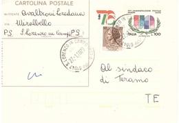 £100 ITALIA 76 + £20 ANN. LORENZO IN CAMPO PS - 6. 1946-.. Repubblica