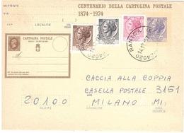 £55 + 40 + 5 + 20 ANN. RANICA BG - 6. 1946-.. Repubblica
