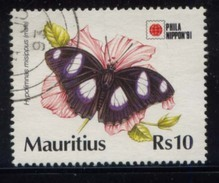 Mauritius (Maurice) Butterfly R10 - Maurice (1968-...)
