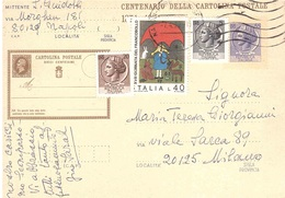 £55  + 20+ 5 + 40 GIORNATA DEL FRANCOBOLLO - 6. 1946-.. Repubblica